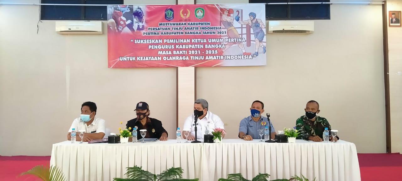 Daniel B. Gala Pimpin Pertina Kabupaten Bangka
