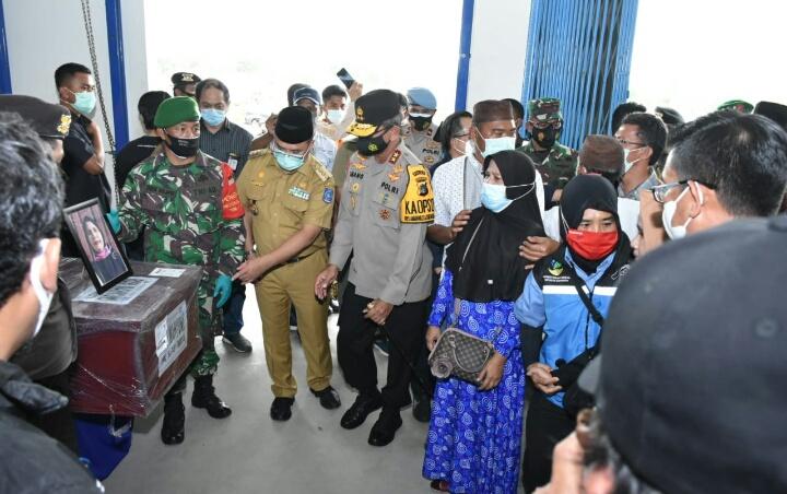 Dua Jenazah Korban Sriwijaya SJ 182 Tiba di Pangkalpinang